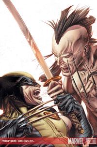 Wolverine: Origins #35 cover