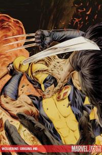 Wolverine: Origins #40 cover