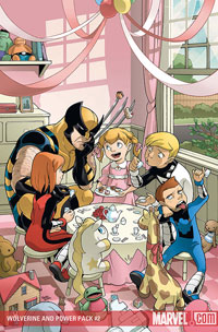 Wolverine/Power Pack #2 cover