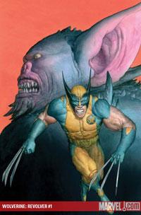 Wolverine: Revolver #1 cover