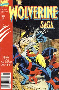 Wolverine Saga #2 cover original