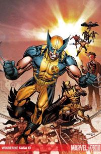 Wolverine Saga cover