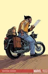 Wolverine: Saudade cover