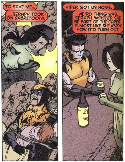 Wolverine, Viper and the death of Seraph