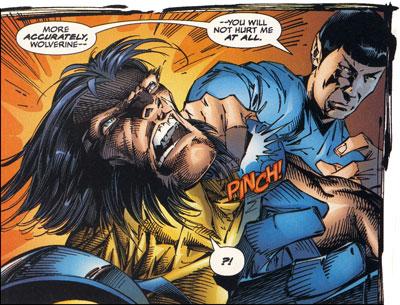 Spock vs. Wolverine