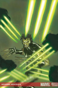 Wolverine: Weapon X #2 cover