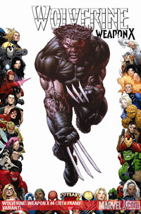 Wolverine: Weapon X #4 cover