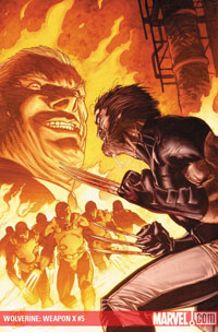 Wolverine: Weapon X #5 cover