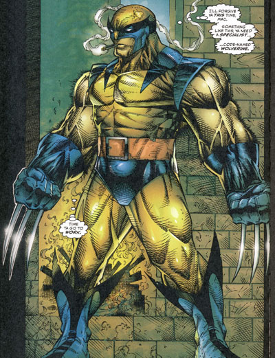 Wolverine as Weapon X