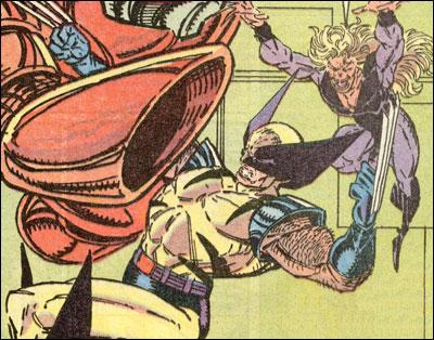 Wolverine and Wild Child