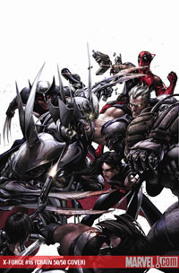 X-Force #16 cover
