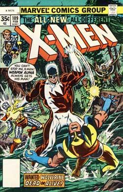 X-Men #109 cover