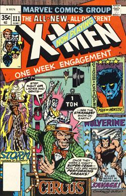 X-Men #111 cover