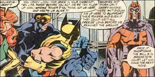 X-Men #112 panel cover