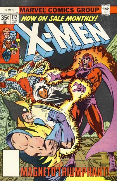 Wolverine Covers: X-Men #112