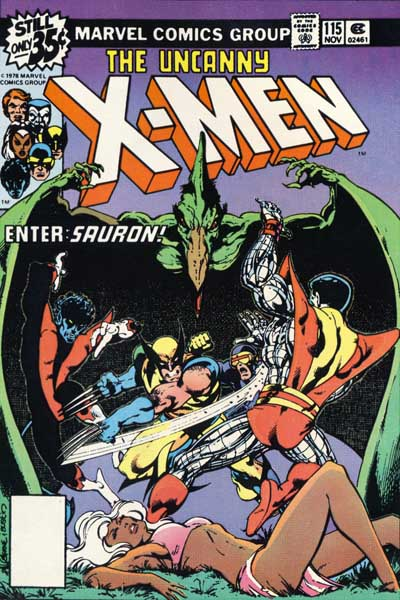 Wolverine Covers: X-Men #115