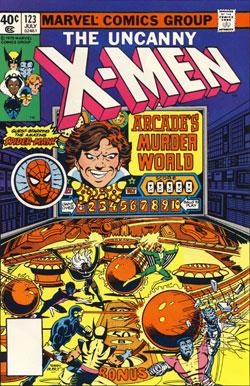 X-Men #123 cover