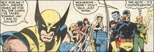 Wolverine seeks revenge