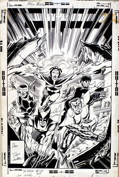 X-Men #126 cover original