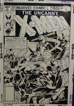 X-Men #133 cover original