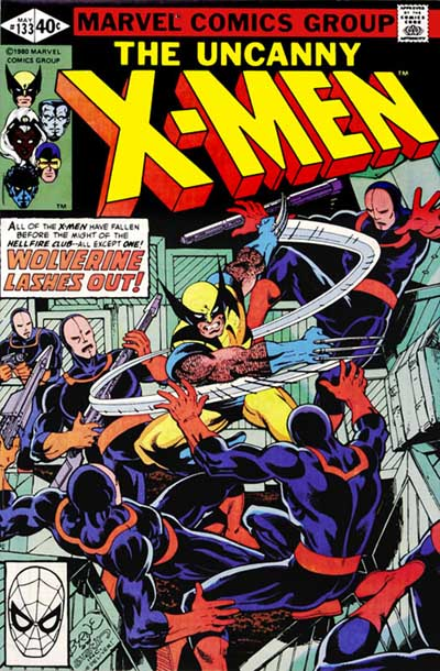 Wolverine Covers: X-Men #126
