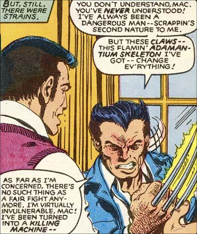 X-Men #140 classic panel