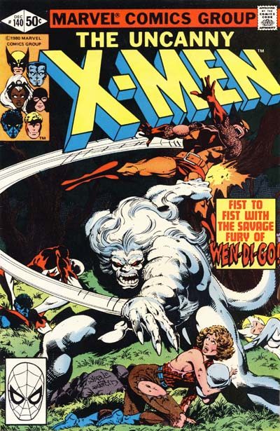 Wolverine Covers: X-Men #140