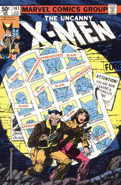 Wolverine Covers: X-Men #141