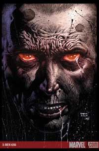 X-Men #206 cover