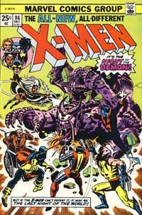 X-Men #96 cover
