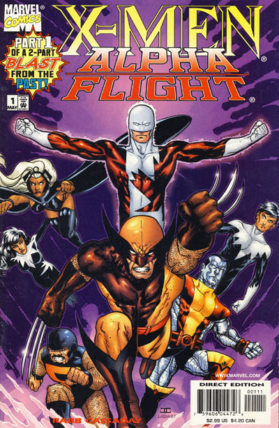 Wolverine Covers: X-Men/Alpha Flight #1