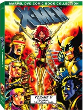 X-Men Animated DVD cover