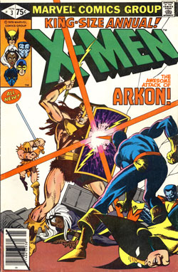 X-Men Annual #3 cover