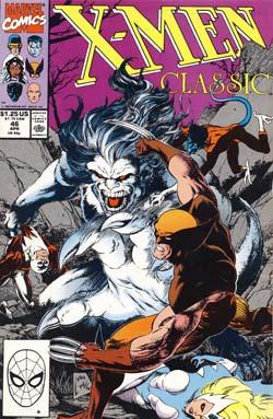 X-Men Classic #46 cover