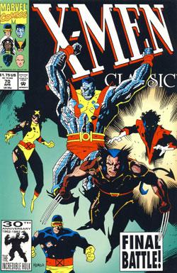 X-Men Classic #70 cover