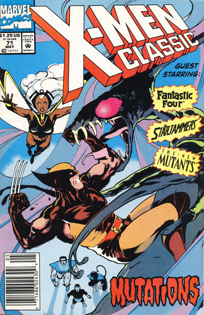 X-Men Classic #71 cover