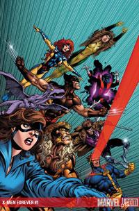 X-Men Forever #1 cover