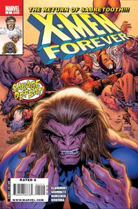 X-Men Forever #2 cover