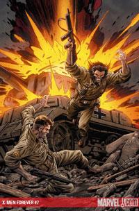 X-Men Forever #7 cover