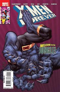 X-Men Forever #9 cover