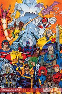 X-Men Forever Alpha cover