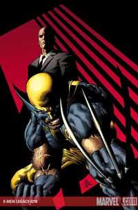 X-Men: Legacy #218 cover