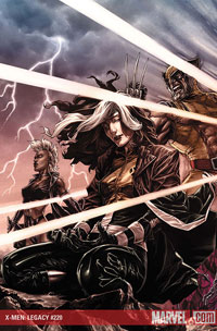 X-Men Legacy #220 cover