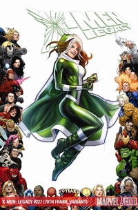 X-Men Legacy #227 cover