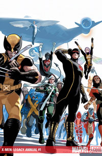 X-Men Legacy Annual #1 cover