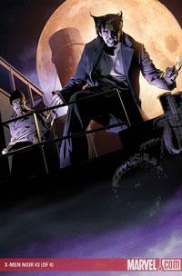 X-Men Noir #3 cover