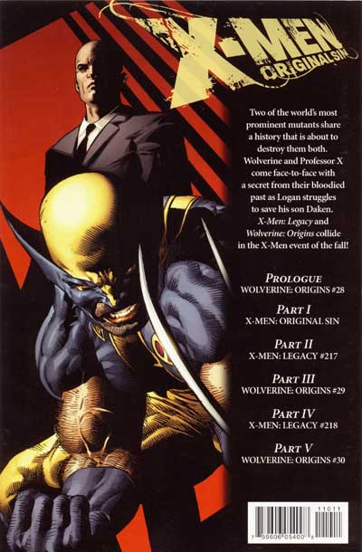 X-Men: Original Sins promotional art