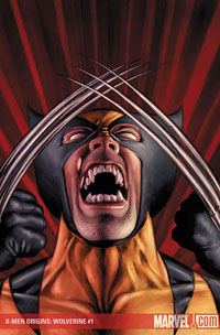 X-Men Origins: Wolverine #1 cover