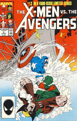 Wolverine Covers: X-Men vs. Avengers #3