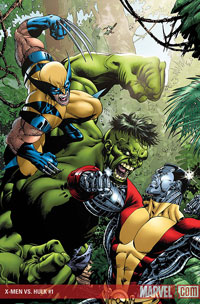 X-Men vs. Hulk #1 cover